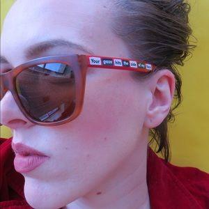 Barbra Kruger sunglasses